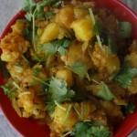 Bangala dumpa iguru /Aloo curry / potato stir fry