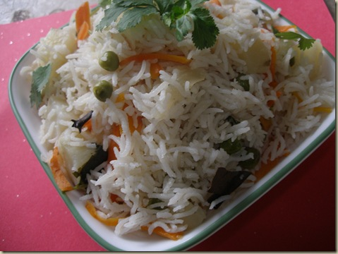 vegetable pulav /veg pulav