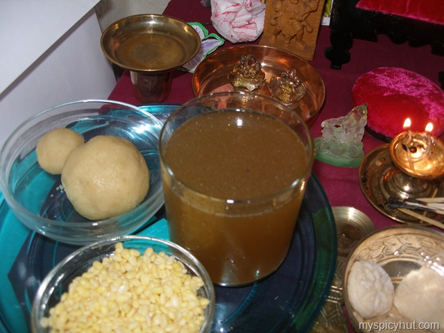 Sri rama navami celebrations my spicyhut on this festival day panakamchalividi vadapappu is given as offering to god forumfinder Image collections