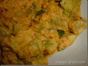 SORAKAYA  VERUSENAGA NUVVULA  KURA   /  BOTTLE GOURD CURRY WITH PEANUTS  AND SEASME SEEDS